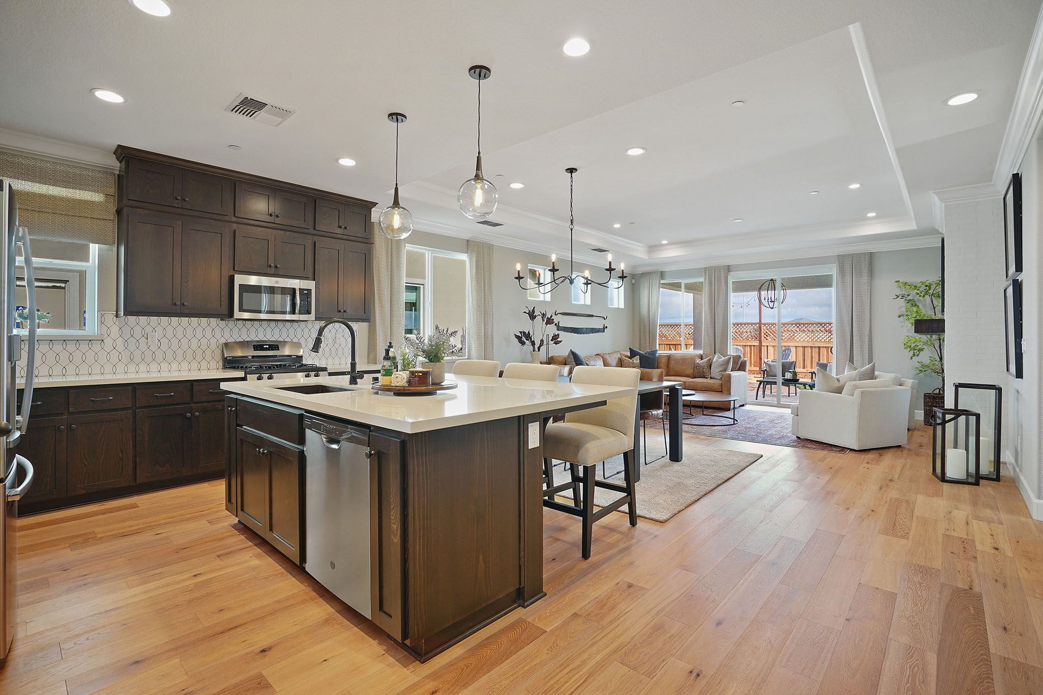 Kitchen featured in the Whitney By Discovery Homes in Chico, CA