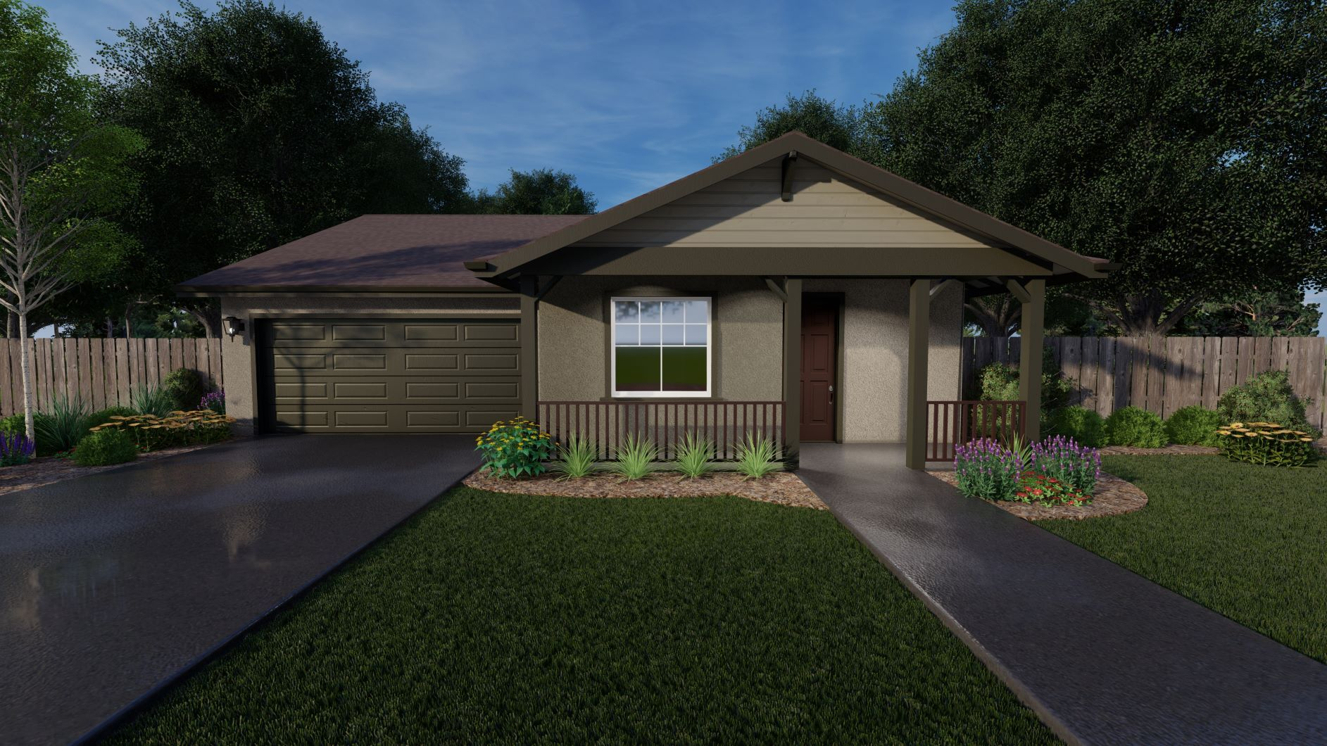 Exterior featured in the Trinity By Discovery Homes in Chico, CA
