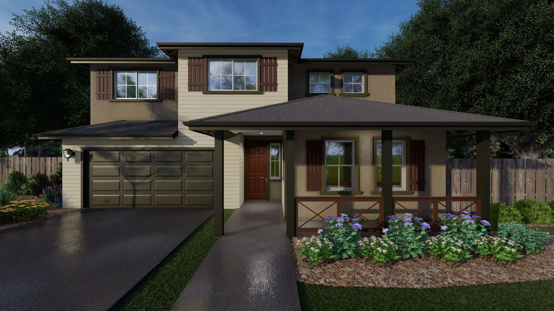 Exterior featured in the Hazel By Discovery Homes in Chico, CA