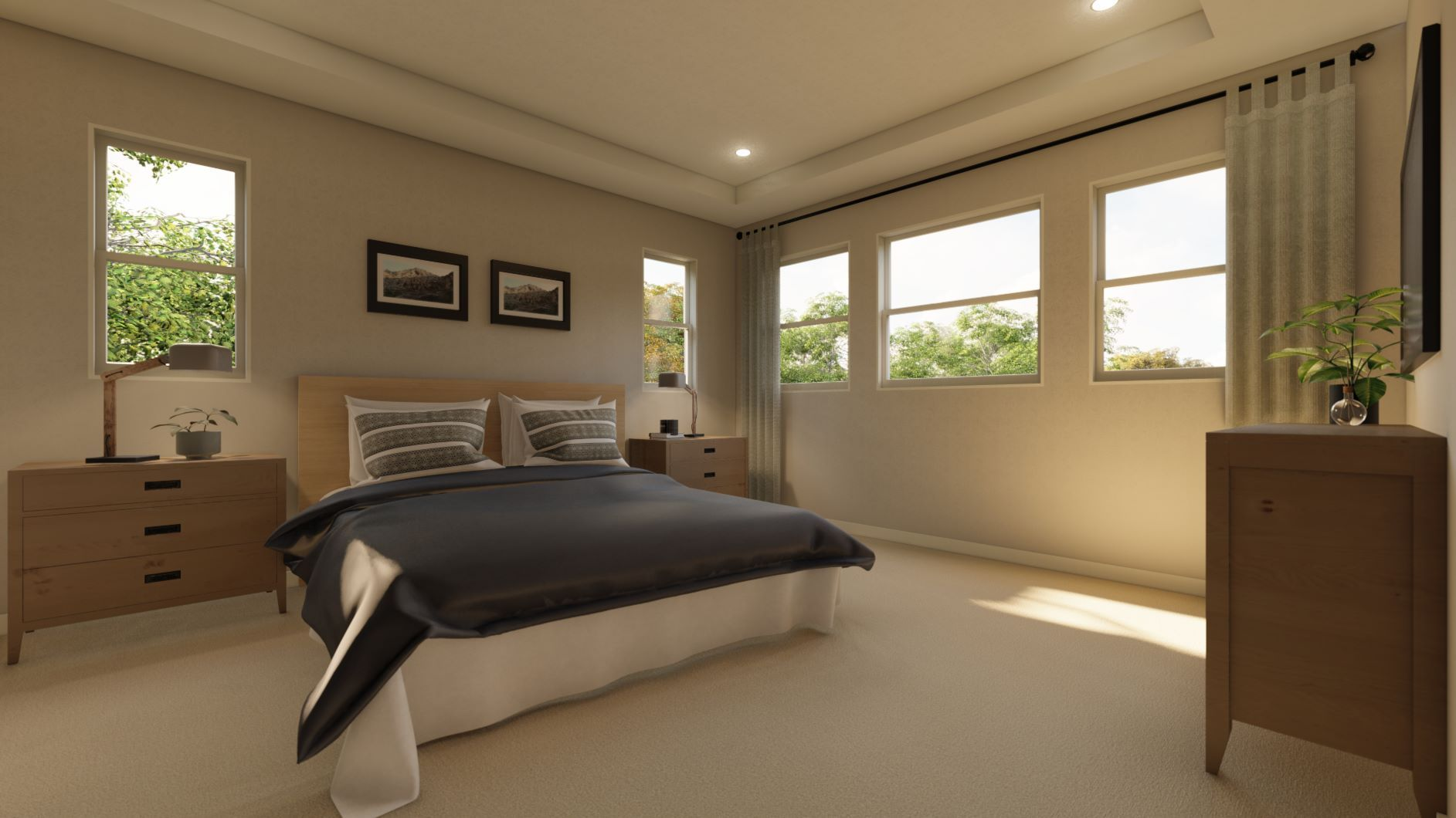 Bedroom featured in the Residence 2 By Discovery Homes in Oakland-Alameda, CA