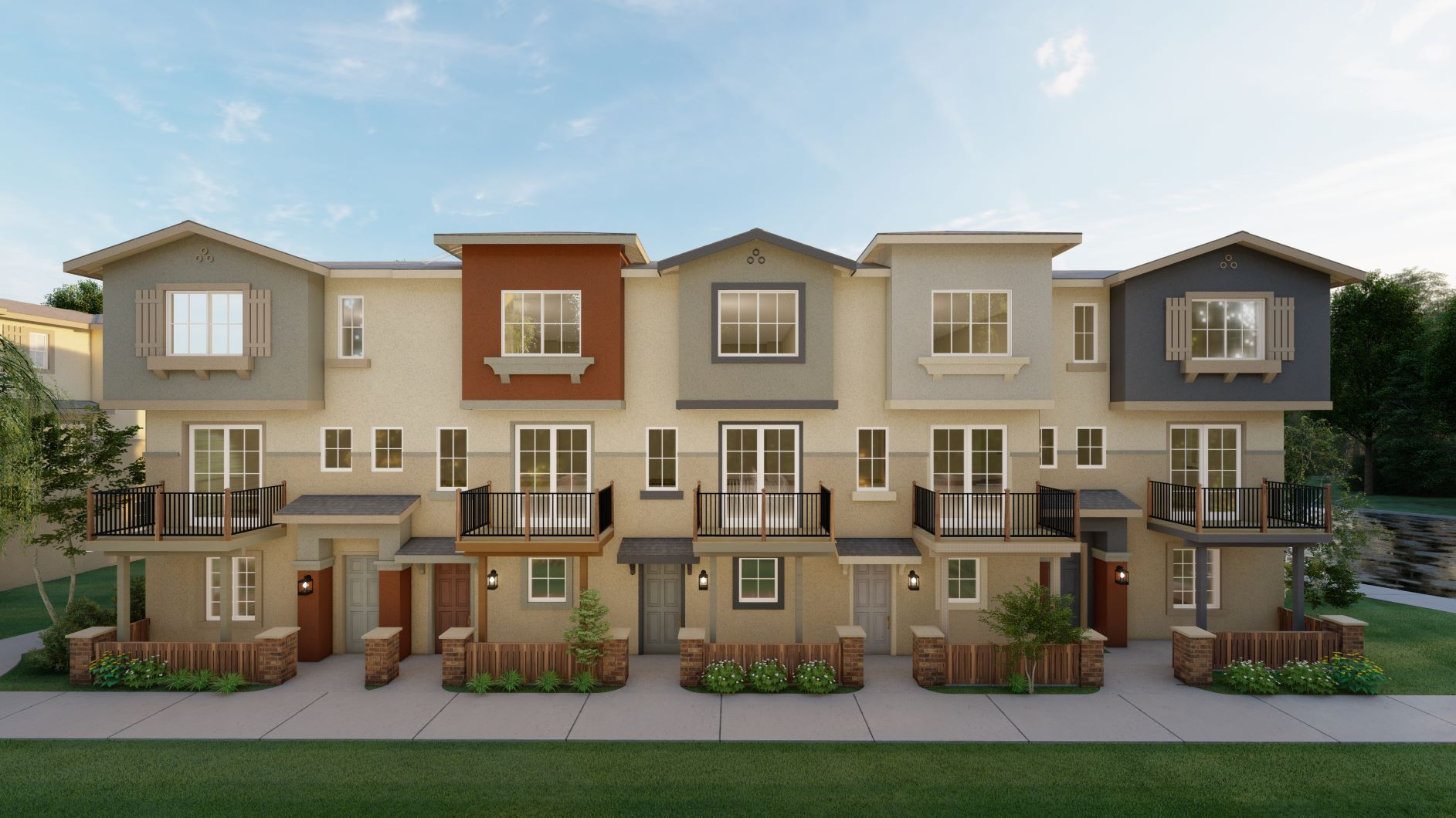 Exterior featured in the Birch By Discovery Homes in Oakland-Alameda, CA