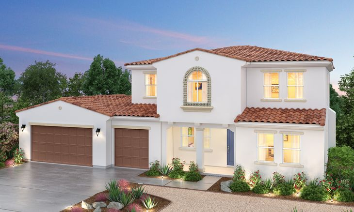 Residence 2A:Spanish Elevation