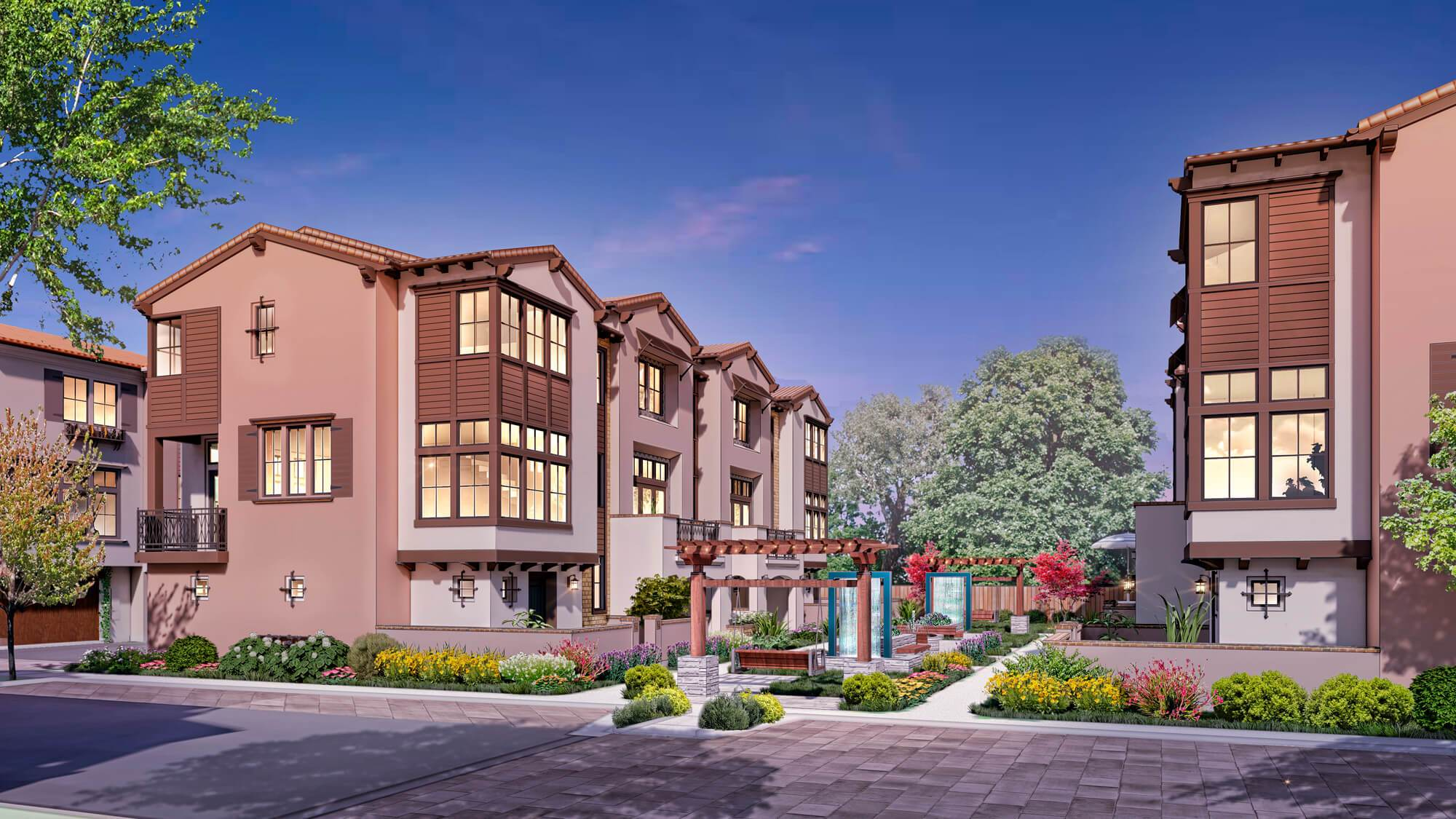 Exterior featured in the Maravilla- Plan 3X By Dividend Homes in San Jose, CA