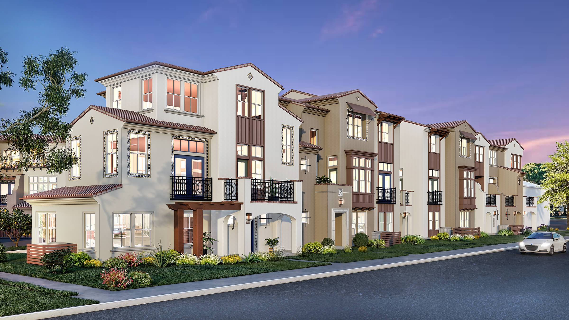 Exterior featured in the Cantera- Homesite 12 - Plan G By Dividend Homes in San Jose, CA