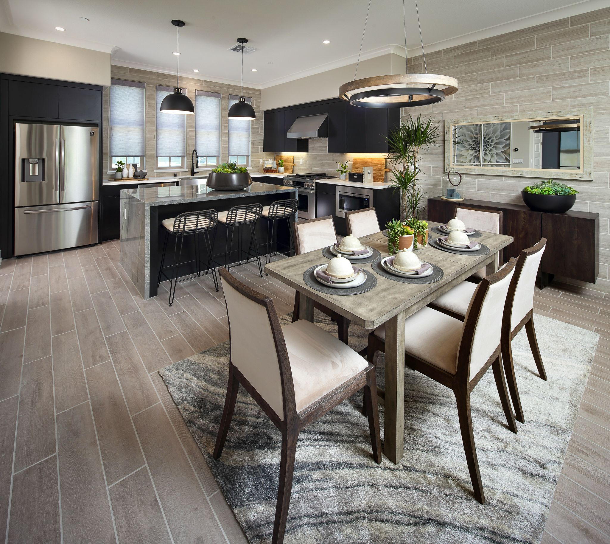 Kitchen featured in the Maravilla- Plan 2 By Dividend Homes in San Jose, CA