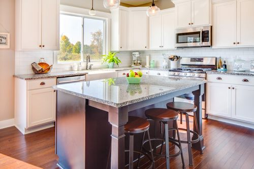 Kitchen-in-The Camden-at-Mansfield- Build On Your Lot-in-Mansfield