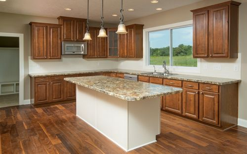 Kitchen-in-The Stanford-at-Mansfield- Build On Your Lot-in-Mansfield