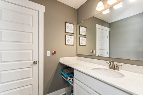 Bathroom-in-The Newbury III-at-Canton- Build On Your Lot-in-Canton