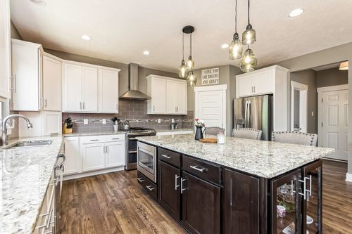 Kitchen-in-The Newbury III-at-Ashland County - Build on Your Lot-in-Ashland