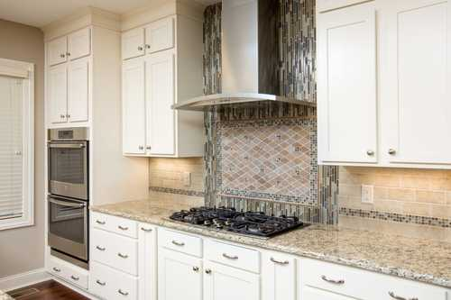 Kitchen-in-The Bromley III-at-Mansfield- Build On Your Lot-in-Mansfield