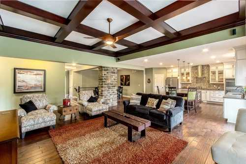 Greatroom-and-Dining-in-The Bromley III-at-Mansfield- Build On Your Lot-in-Mansfield