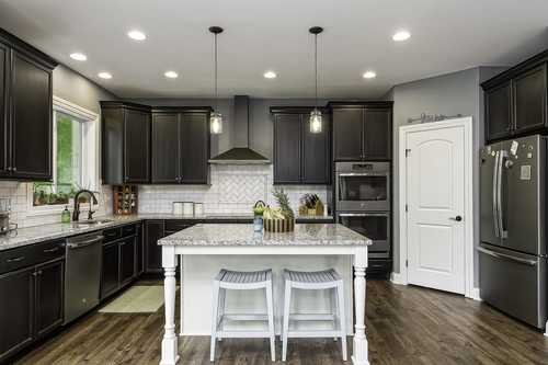 Kitchen-in-The Harvard-at-Canton- Build On Your Lot-in-Canton