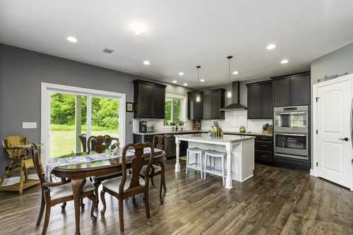Kitchen-in-The Harvard-at-Mansfield- Build On Your Lot-in-Mansfield