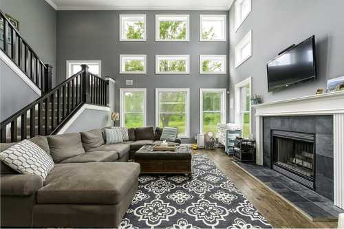 Greatroom-and-Dining-in-The Harvard-at-Mansfield- Build On Your Lot-in-Mansfield