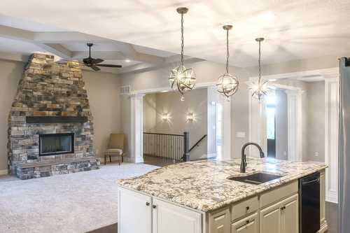 Kitchen-in-The Murphy II-at-Canton- Build On Your Lot-in-Canton