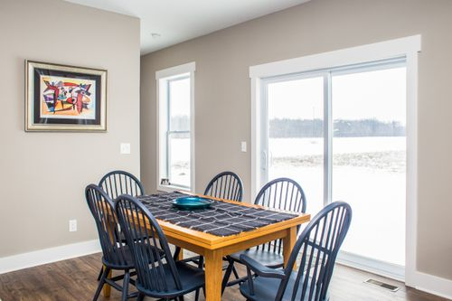 Dining-in-The Carrington-at-Canton- Build On Your Lot-in-Canton