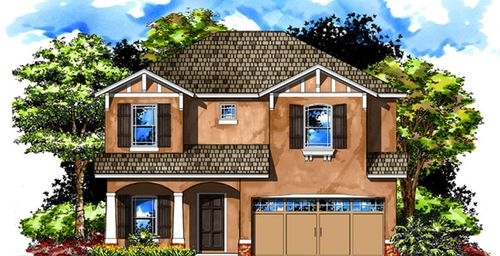 Southtown Park Single Family By Domain Homes In Tampa St Petersburg Florida