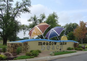 Meadow Lake Beach By Don Klausmeyer Const Llc In Wichita Kansas