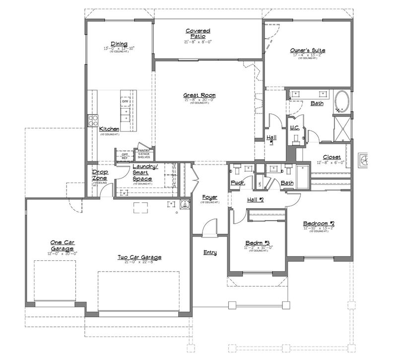 Nightfall Breeze Home Plan By Dorn Homes In Viewpoint