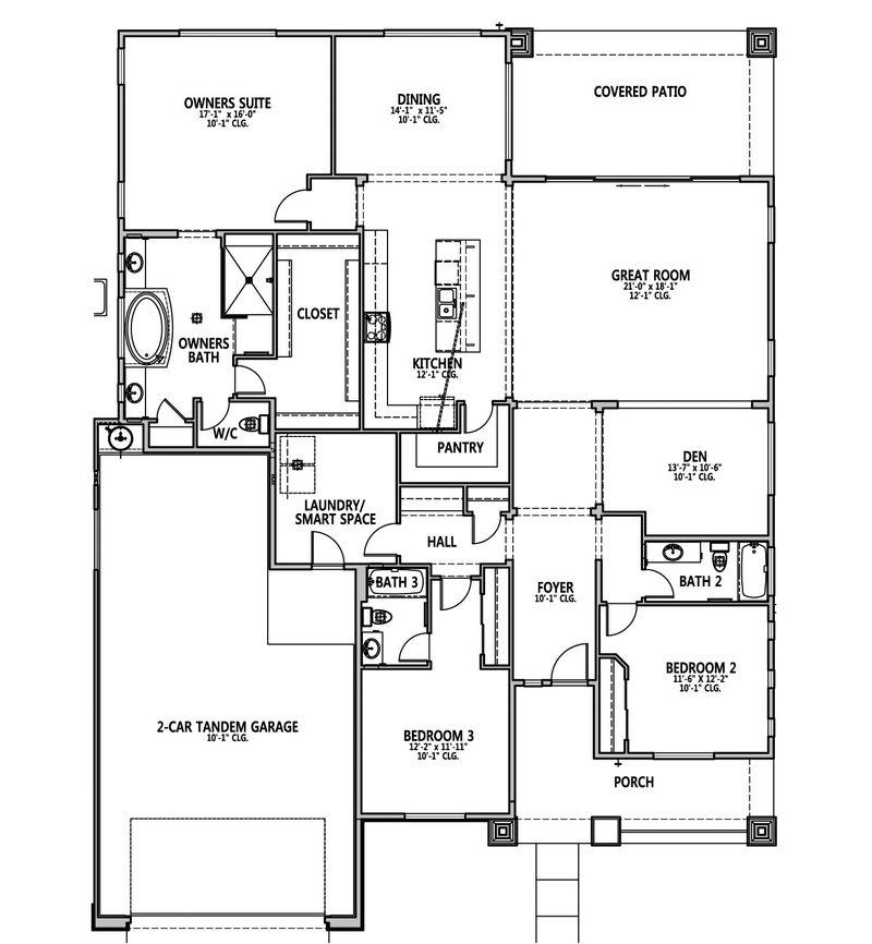 Silverado Floorplan