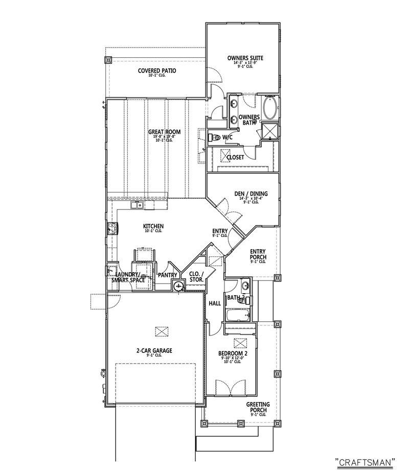 Elizabeth Home Plan by Dorn Homes in Astoria