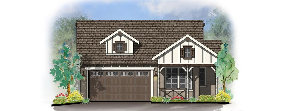 Charlotte Home Plan By Dorn Homes In Astoria