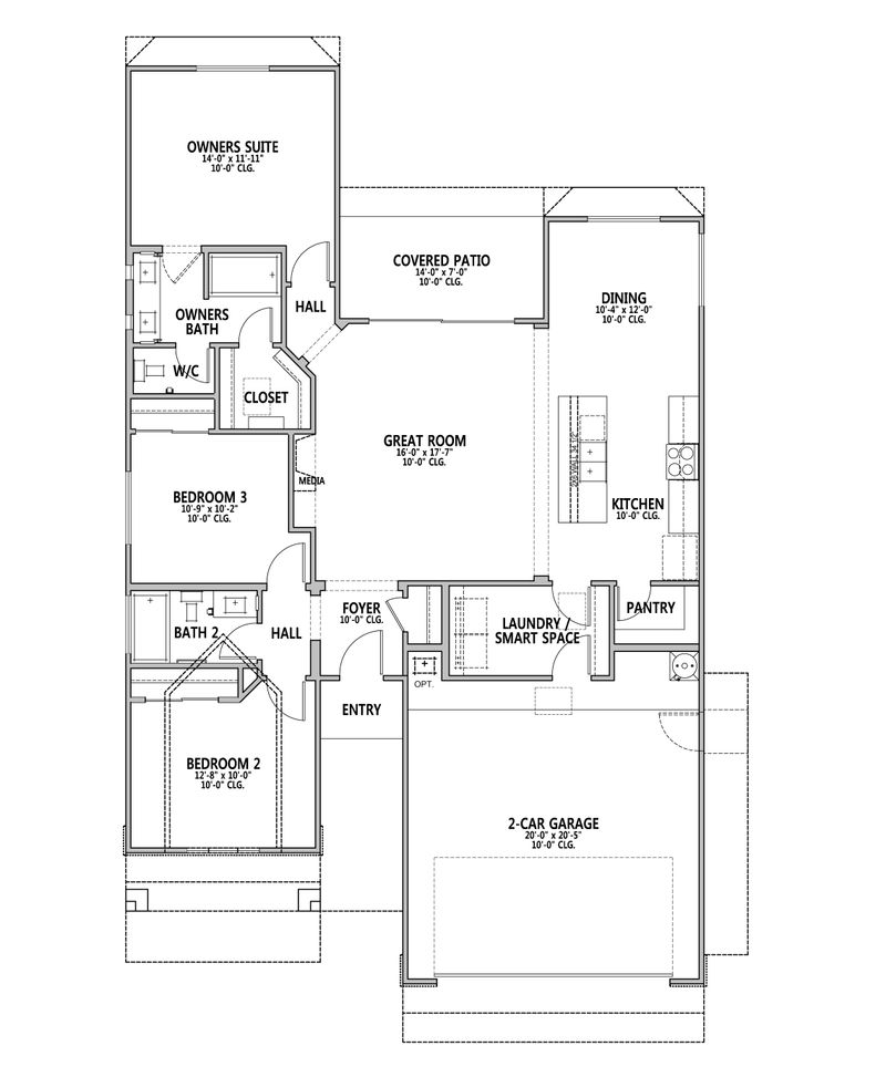 Bryce Canyon Floor Plan