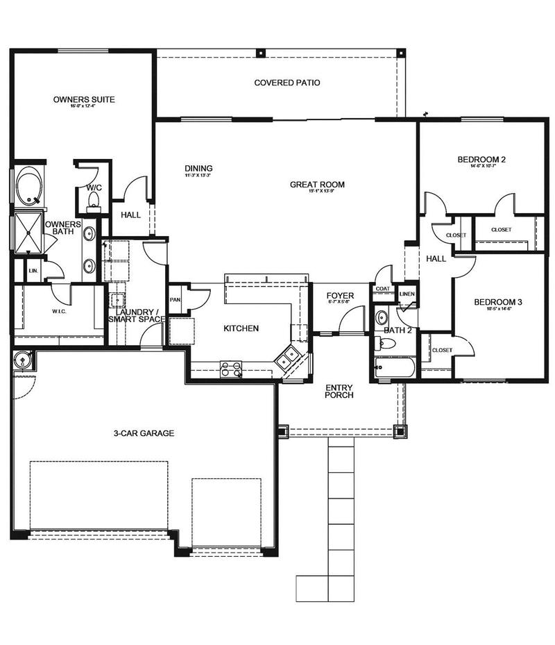 Cypress Home Plan By Dorn Homes In Pronghorn Ranch
