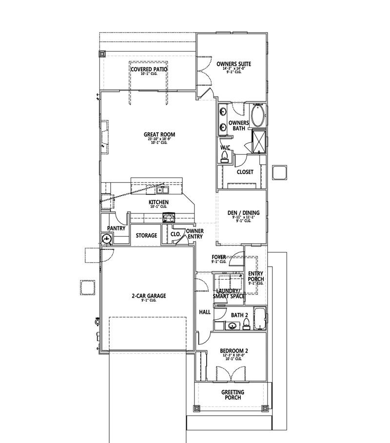 Katherine Floor Plan