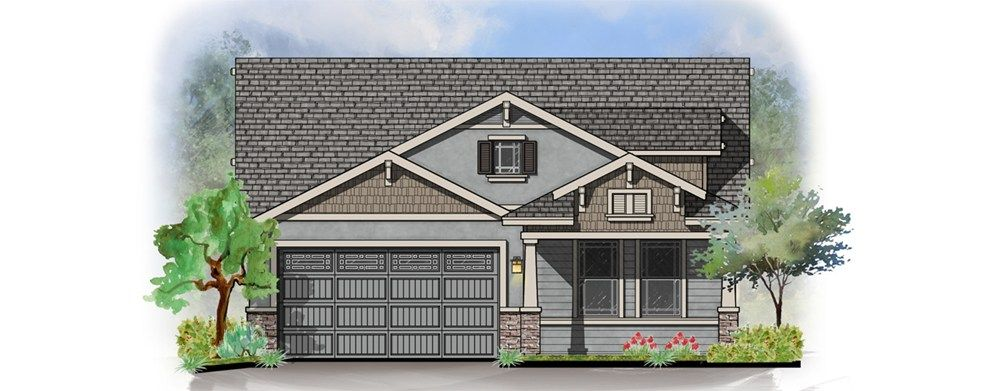 Katherine With Basement Home Plan By Dorn Homes In Astoria