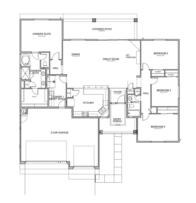 Morning Star Floorplan