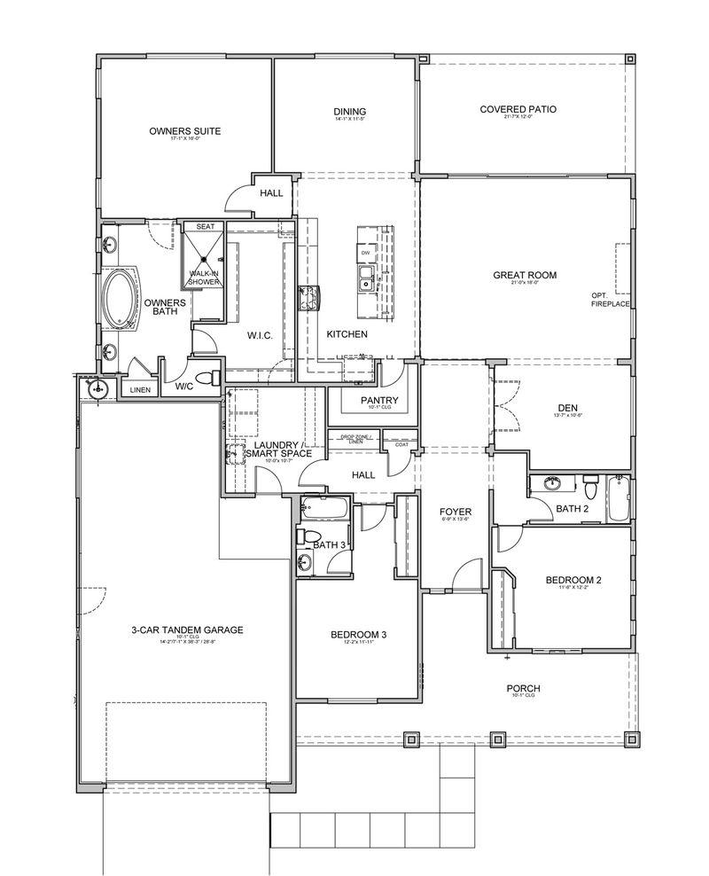Tarragon Floorplan