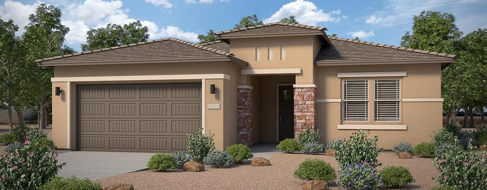 Sweet Caroline Home Plan By Dorn Homes In Wickenburg Ranch