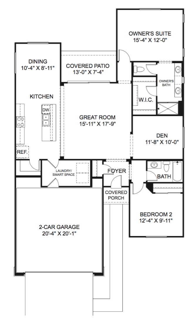 The Aster Floor Plan