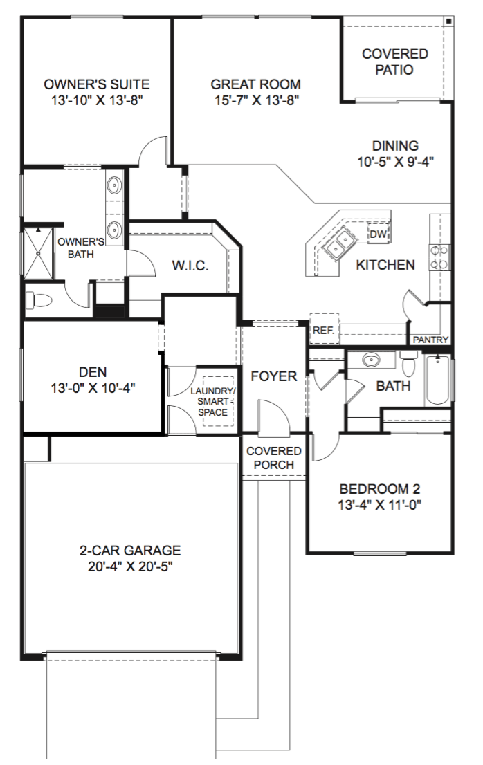 Larkspur Floor Plan