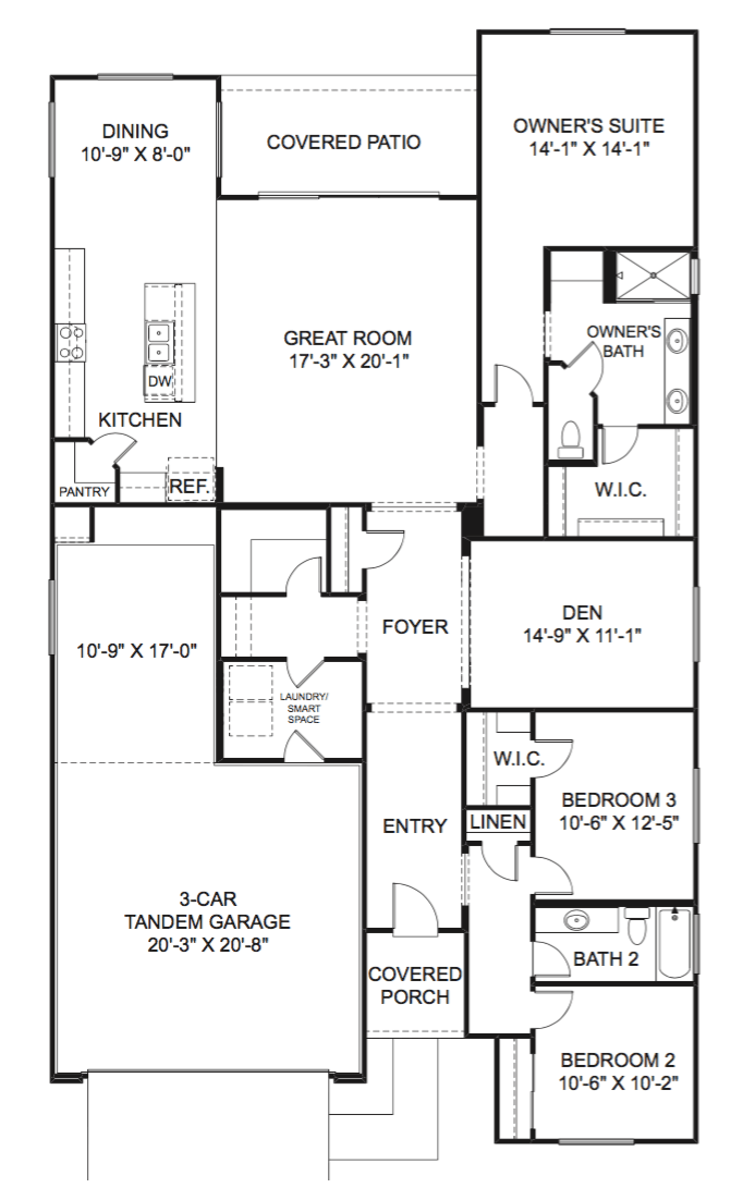 Sunrise Floor Plan