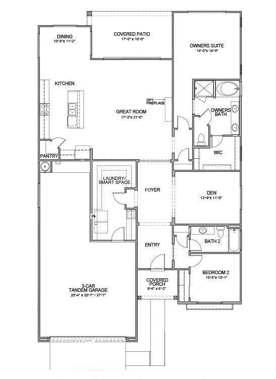 Hotel California Floor Plan