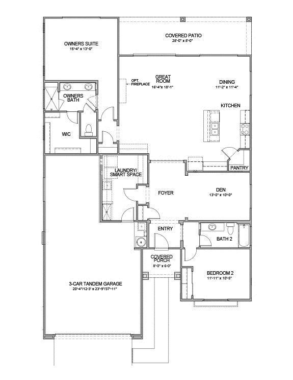 Sweet Caroline Floor Plan