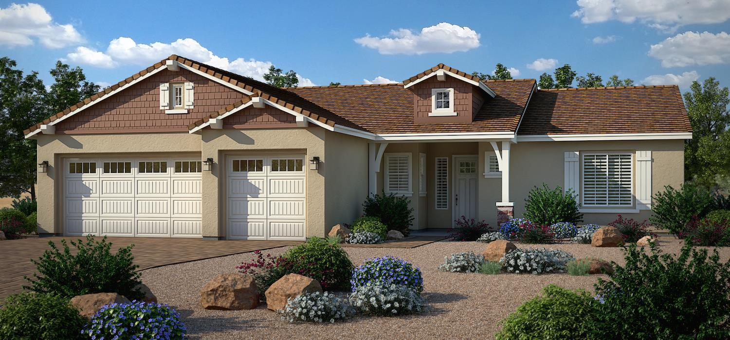 Exterior featured in the Dayflower By Dorn Homes  in Prescott, AZ