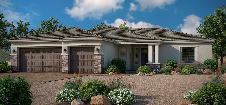 Exterior featured in the Dayflower By Dorn Homes  in Prescott, AZ