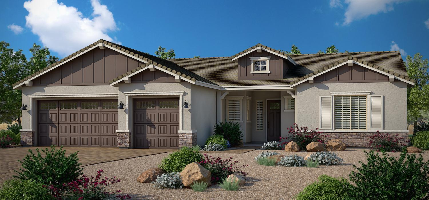 Exterior featured in the Morning Star By Dorn Homes  in Prescott, AZ