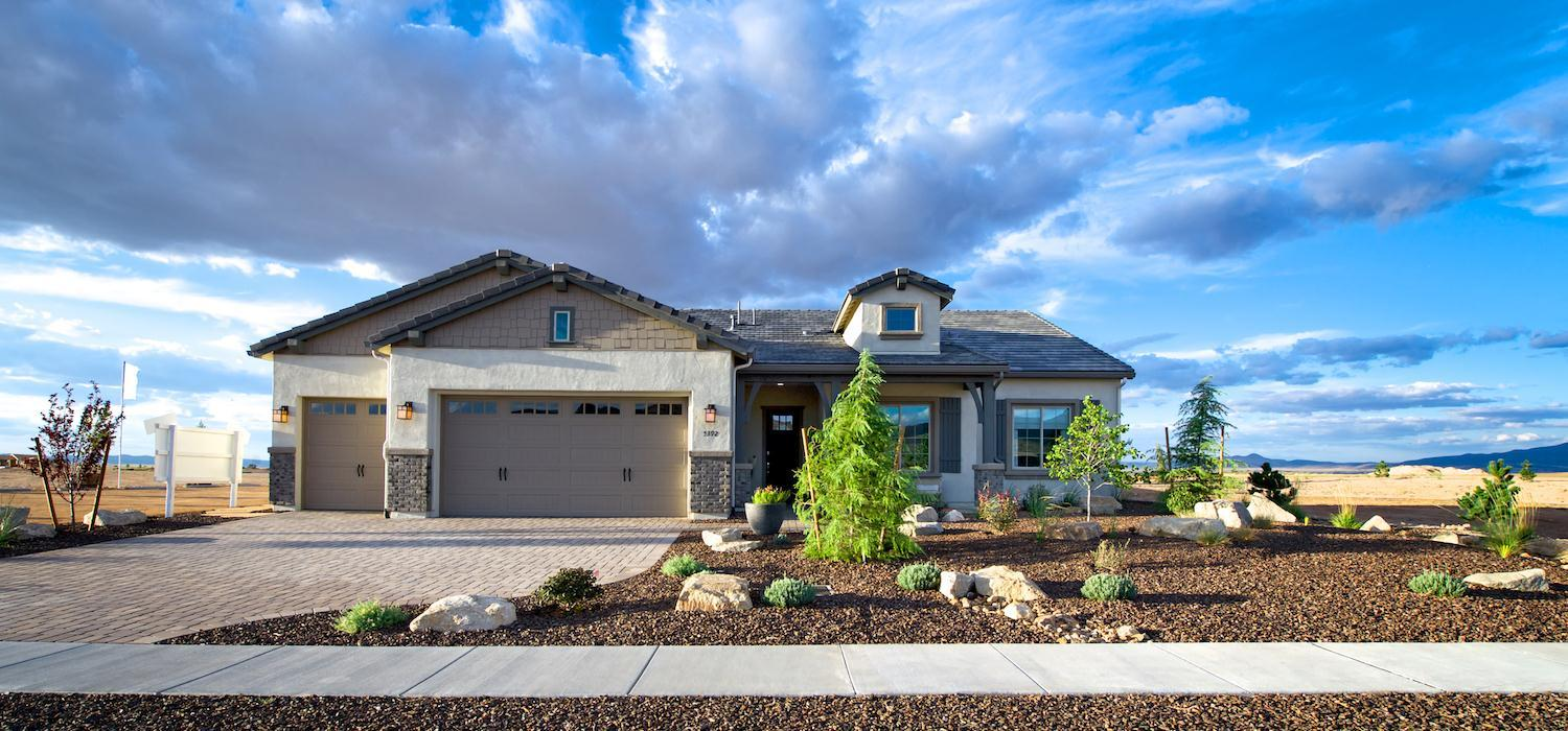 Exterior featured in the Primrose By Dorn Homes  in Prescott, AZ