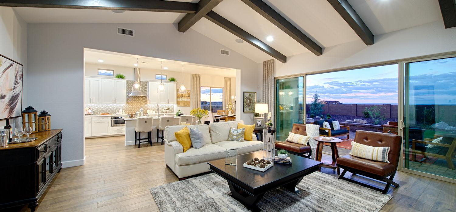 Living Area featured in the Primrose By Dorn Homes  in Prescott, AZ