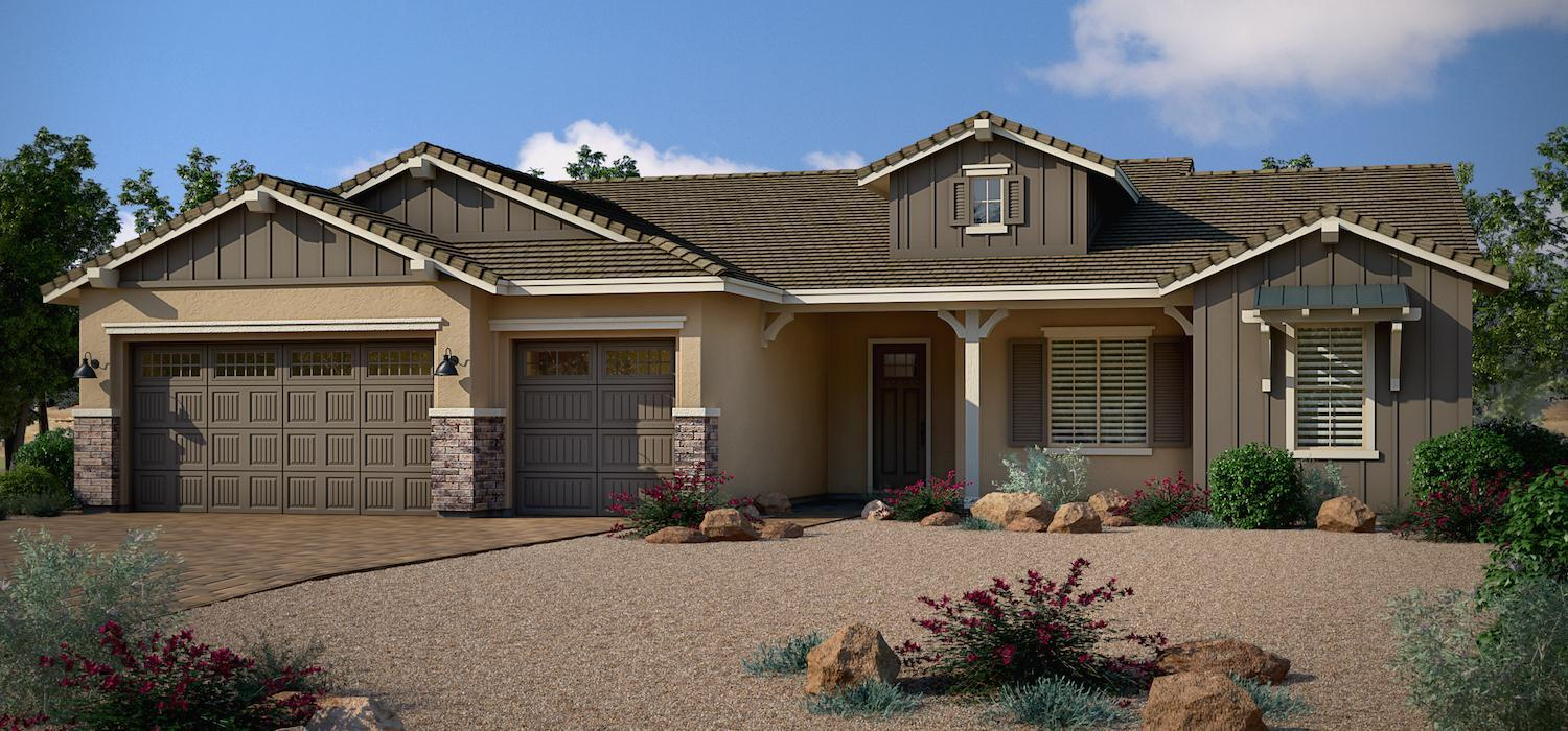 Exterior featured in the Sunflower By Dorn Homes  in Prescott, AZ