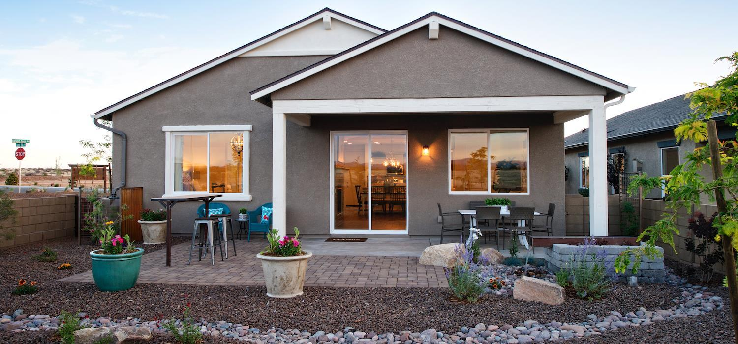 Exterior featured in the Austin By Dorn Homes  in Prescott, AZ