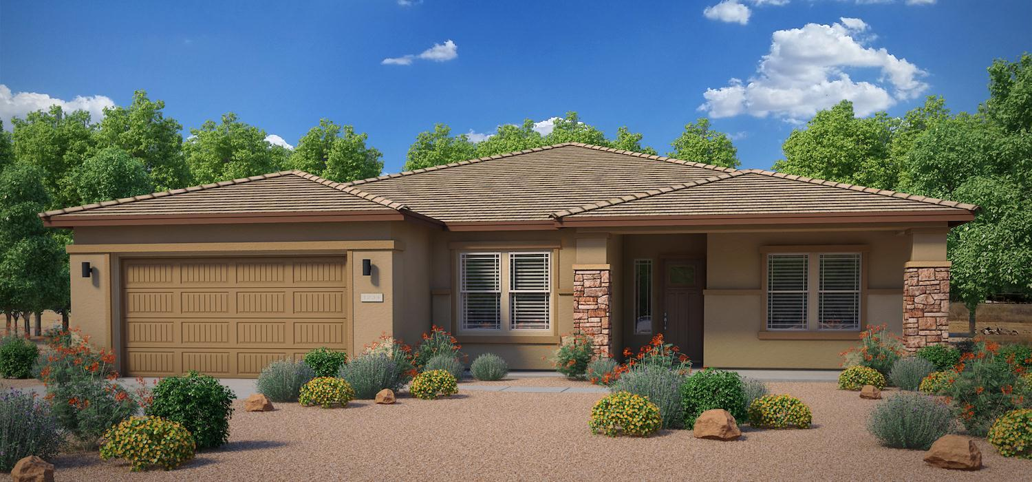 Exterior featured in the Come Together By Dorn Homes  in Phoenix-Mesa, AZ