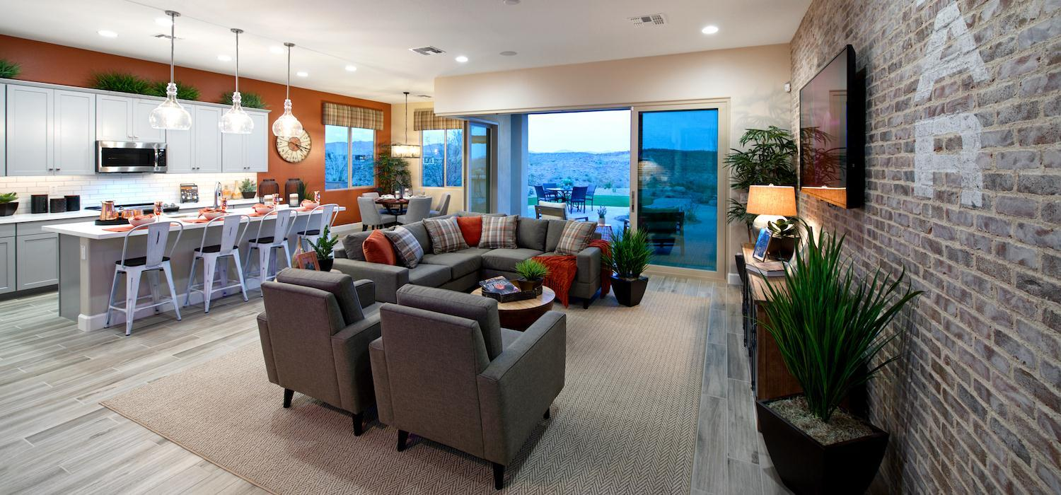Living Area featured in the Hotel California By Dorn Homes  in Phoenix-Mesa, AZ