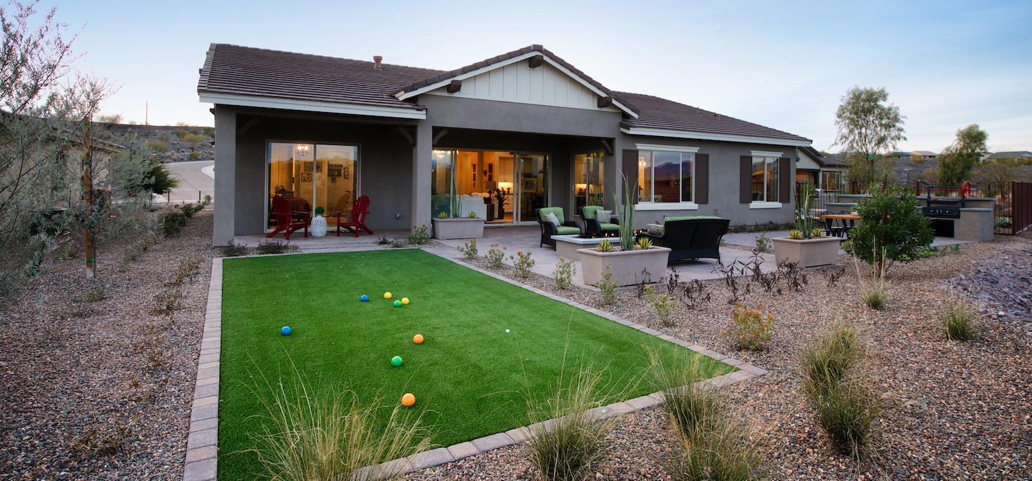 Exterior featured in the Wild Horses By Dorn Homes  in Phoenix-Mesa, AZ