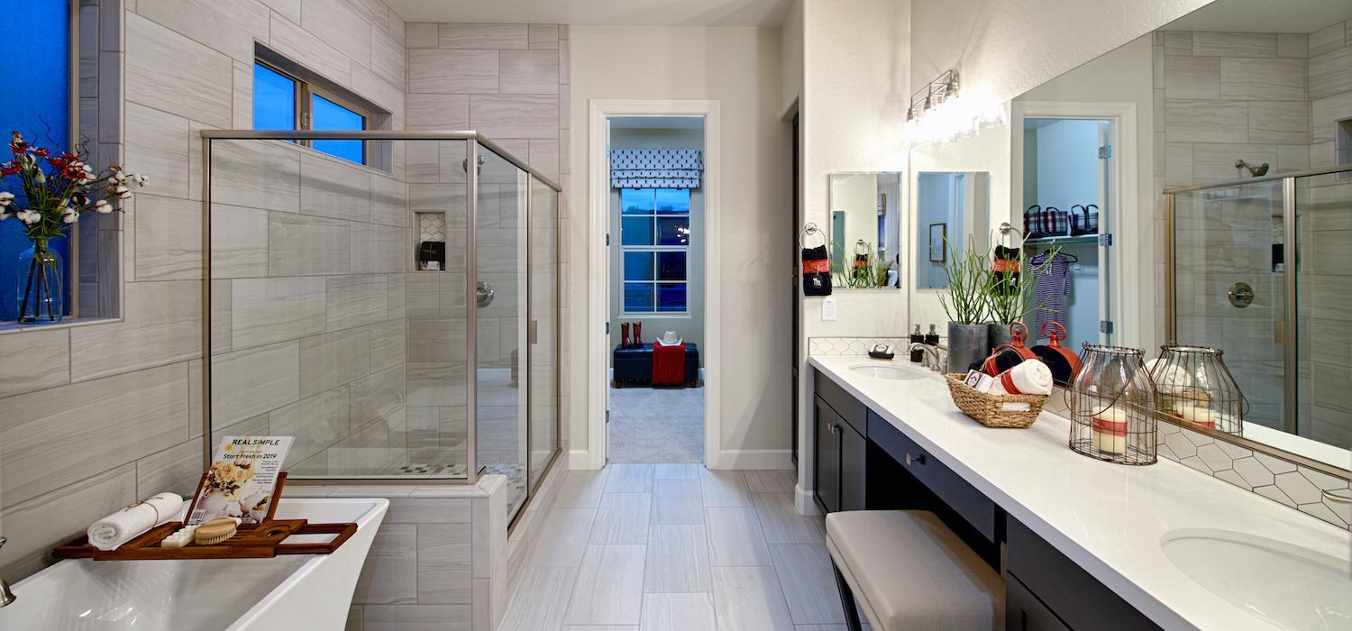 Bathroom featured in the Wild Horses By Dorn Homes  in Phoenix-Mesa, AZ