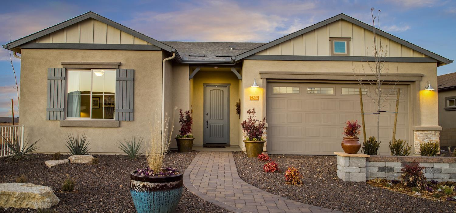 Exterior featured in the Sunrise By Dorn Homes  in Prescott, AZ